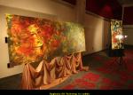 Raghava KK Painting in Lobby