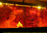 Full Scale Raghava KK Painting Featuring Velocity Dancers in Raghava KK Painted Costumes