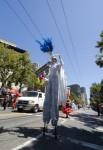 Titan Stilter at Parade