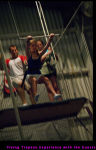 Flying Trapeze Experience with the Guests