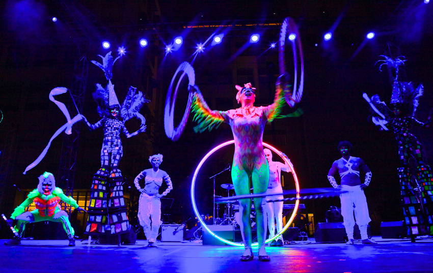 Blacklight Hula Hoop