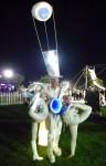 'Delphi' projection costume