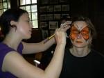 ORANGE face painting