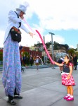 Balloon Artist on Stilts