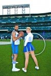 Basketball Player & Cheerleader