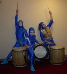 Blu Taiko drummer