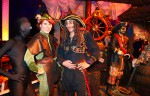 Captain Hook, Peter Pan & his shadow Lord Ombra