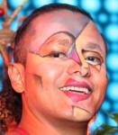 Cubism makeup