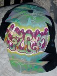 Custom Graffiti and Tag art jackets and ensembles