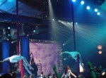 """Images of Velocity Aerialists from UNIVISION """"Upfront"""" Event at Lincoln Center in New York:"""