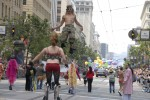 Velocity Power Stilts at San Francisco Pride Parade
