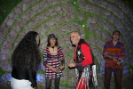 Guests dancing in the Labyrinth