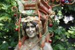 Gold Pomegranate Goddess