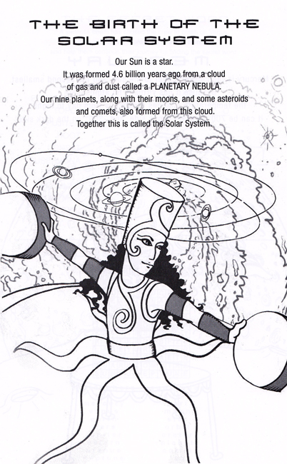 Heliosphere Jr. Coloring and Activity Book THE BIRTH OF THE SOLAR SYSTEM