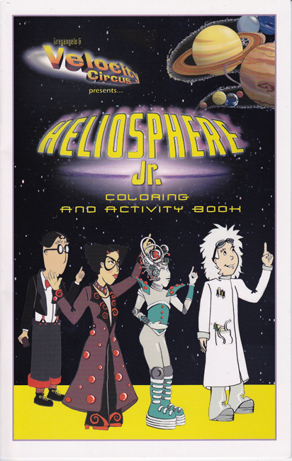 Heliosphere Jr. Coloring and Activity Book