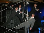High powered Financial District executives perform High power tumbling,  acrobatics and aerial maneuvers throughout your event