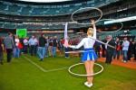 Hooping Cheerleader