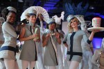 Let our retro stewardesses guide you on your whimsical flight through the stratosphere