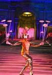 Pink Dream Diva & Platte spinner at San Francisco City Hall