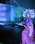 Illuminated Fortune Teller, Beathtaking Video Projection with Magical Light Box & Dragonflies