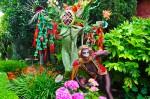 Monkey & Flora in The Garden -Gregangelo Museum