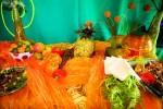 ORANGE -Pineapple Table-