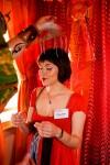 Orange head massage