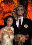 Barack & Michelle Obama impersonators (host ancient egyptian gala)