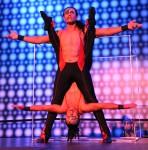 Latin acrobatics / hand balancers