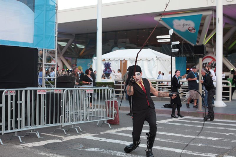 Marilyn Manson & his whip