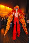Orange Phoenix Stilts