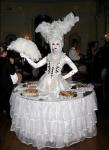Strolling Human Table: Marie Antoinette