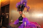Purple Showgirl Table Dress