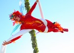 Red Aerial Fairy