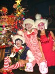 Christmas with Santa's helpers -little Elves-