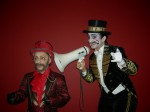 Ringmaster Ziegler and Artiste Extraordinaire Toulouse Lautrec