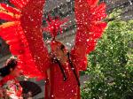 Phoenix fire bird at SF pride parade