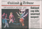 Velocity Pirates on Oakland Tribune