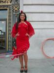 Red hot dancer