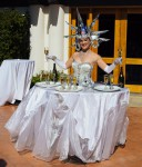 Star Maiden Champagne Table