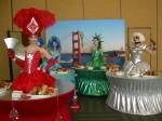 Golden Gate Bridge, Statue of Liberty, Oceania & Gaga Table Dress