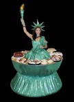 Strolling Table: Lady Liberty