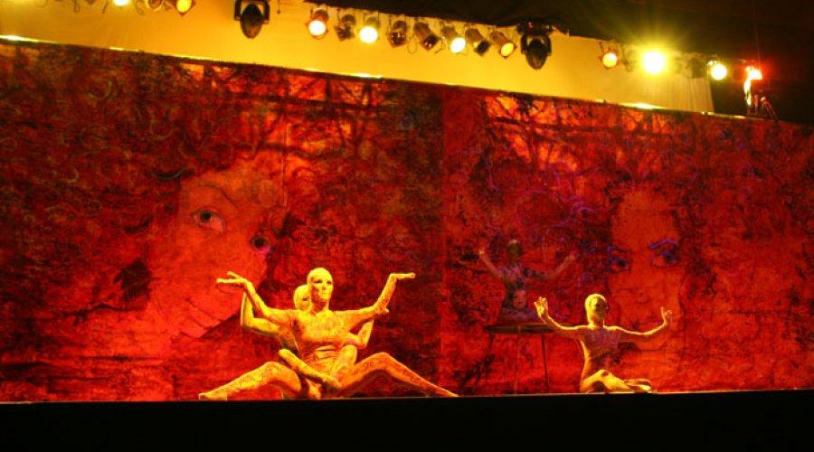 Velocity Circus with Raghava Painting
