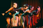 Velocity dancers in scenes from the gangster era hit musical 'Chicago'