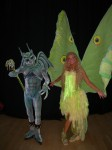 Icara -La Luna- with Gargoyle
