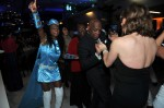 Flight Attendant with Former San Francisco Mayor Willie Brown Dancing