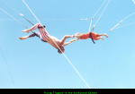 Flying Trapeze in the Enchanted Garden