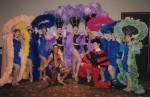 Latin dancers and show girls