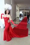 Red Carpet Entry Dress
