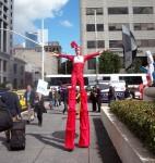 Red mars stilts